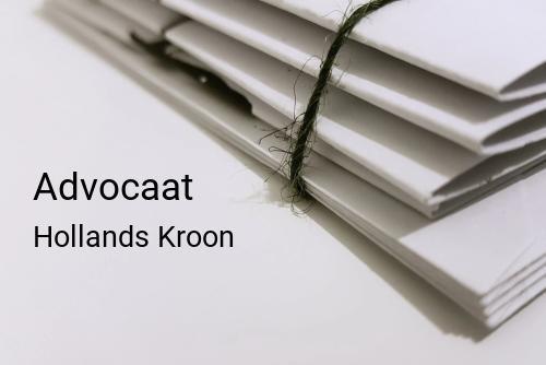 Advocaat in Hollands Kroon