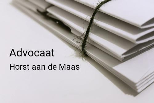Advocaat in Horst aan de Maas