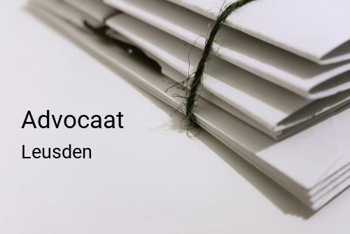 Advocaat in Leusden