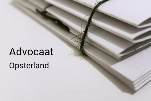 Advocaat in Opsterland