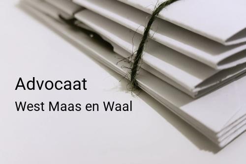 Advocaat in West Maas en Waal