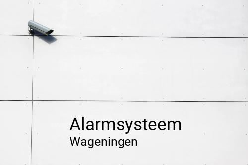 Alarmsysteem in Wageningen