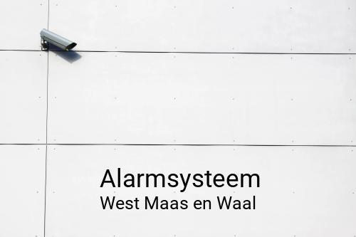 Alarmsysteem in West Maas en Waal