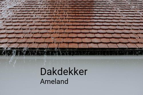 Dakdekker in Ameland