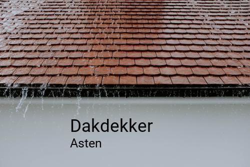 Dakdekker in Asten