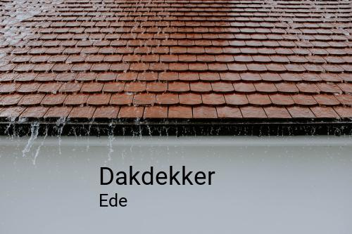 Dakdekker in Ede