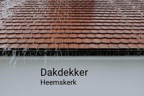 Dakdekker in Heemskerk