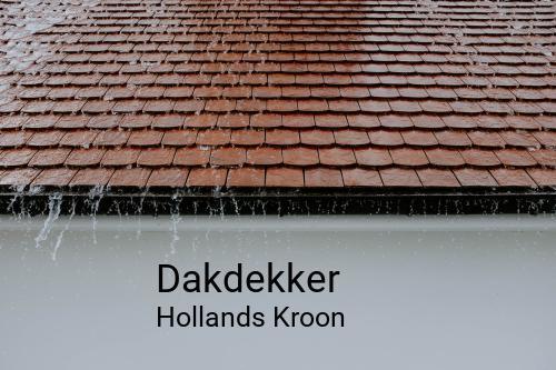 Dakdekker in Hollands Kroon