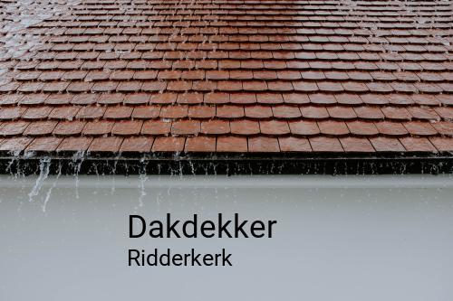 Dakdekker in Ridderkerk