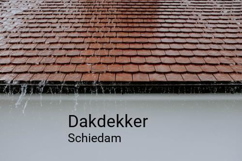 Dakdekker in Schiedam