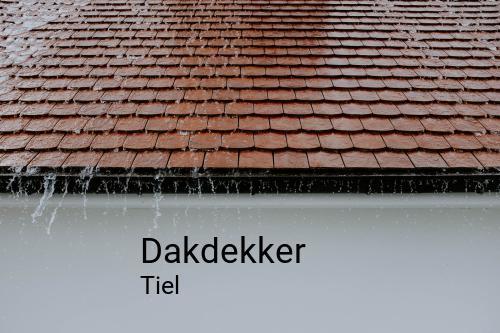 Dakdekker in Tiel
