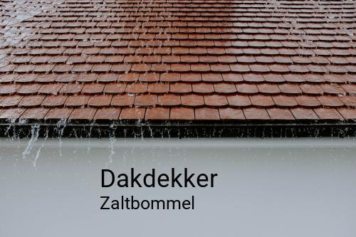Dakdekker in Zaltbommel