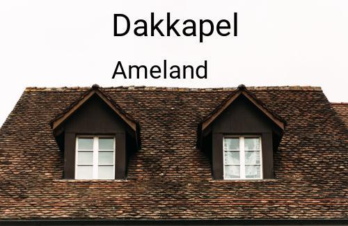 Dakkapellen in Ameland