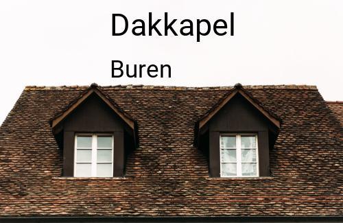 Dakkapellen in Buren