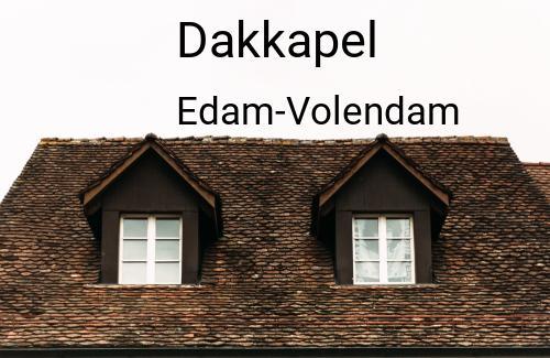 Dakkapellen in Edam-Volendam