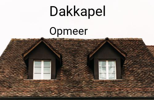 Dakkapellen in Opmeer