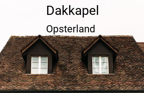 Dakkapellen in Opsterland