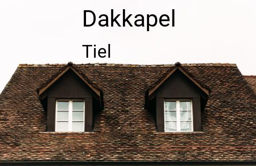 Dakkapellen in Tiel