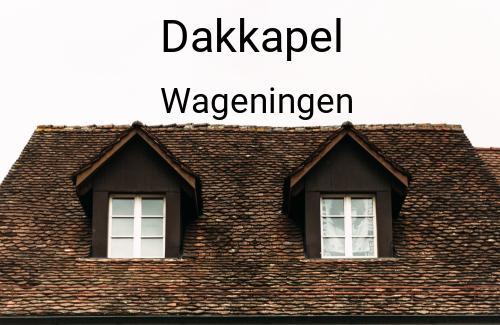 Dakkapellen in Wageningen