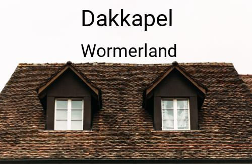 Dakkapellen in Wormerland