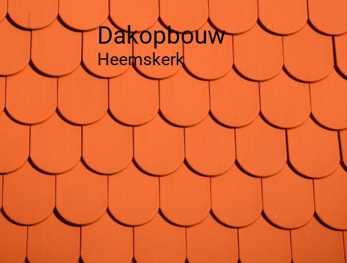 Dakopbouw in Heemskerk