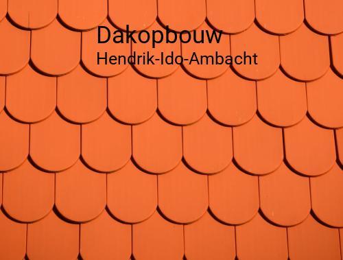 Dakopbouw in Hendrik-Ido-Ambacht