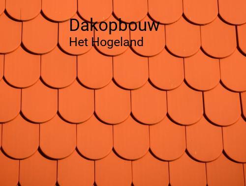Dakopbouw in Het Hogeland