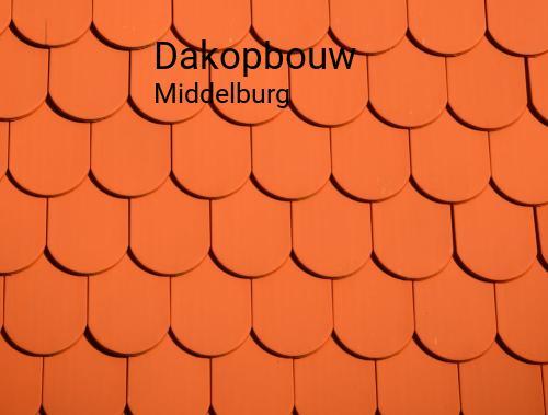 Dakopbouw in Middelburg