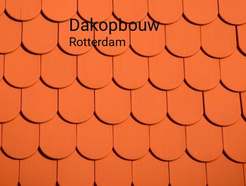 Dakopbouw in Rotterdam