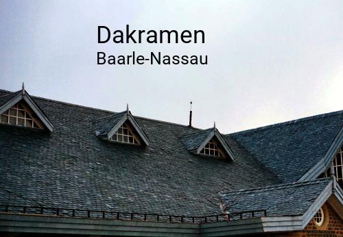 Dakramen in Baarle-Nassau