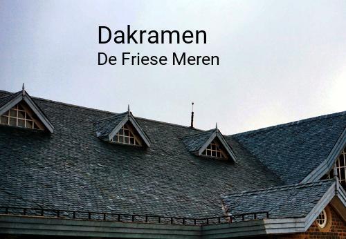 Dakramen in De Friese Meren