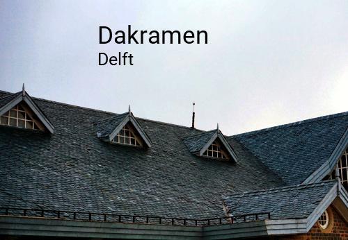 Foto van Dakramen in Delft