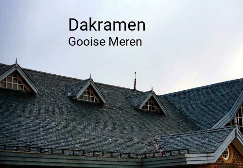 Dakramen in Gooise Meren