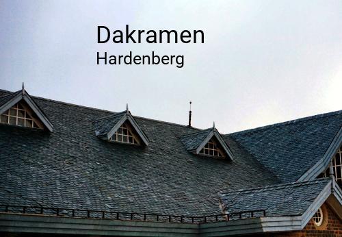 Dakramen in Hardenberg