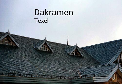 Dakramen in Texel