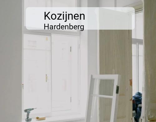 Kozijnen in Hardenberg