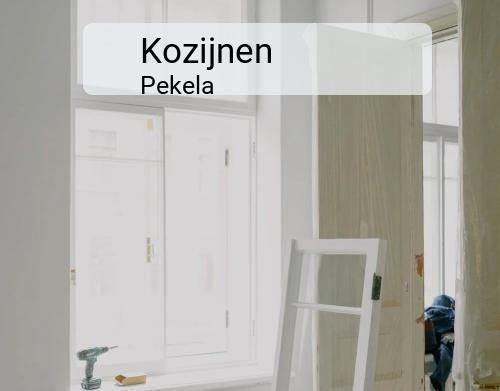 Kozijnen in Pekela