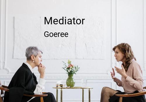 Mediator in Goeree