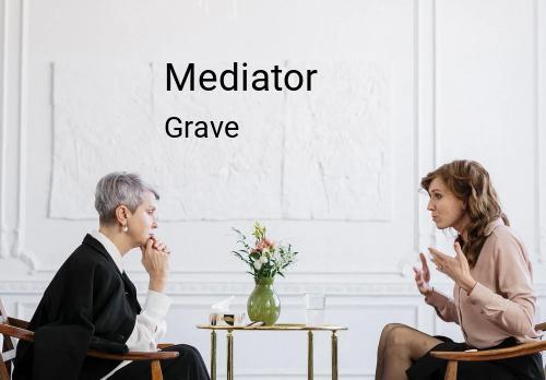 Mediator in Grave