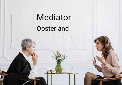 Mediator in Opsterland