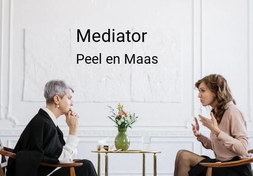 Mediator in Peel en Maas