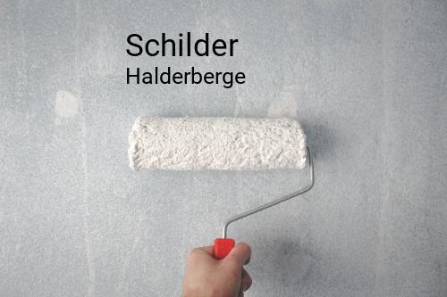 Schilder in Halderberge