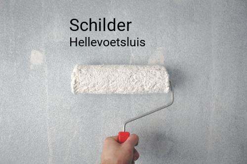 Schilder in Hellevoetsluis