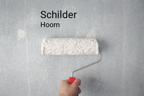 Schilder in Hoorn