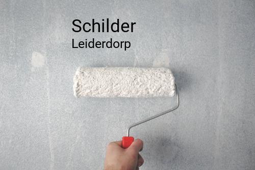 Schilder in Leiderdorp