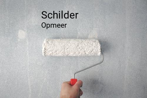 Schilder in Opmeer