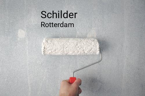 Schilder in Rotterdam