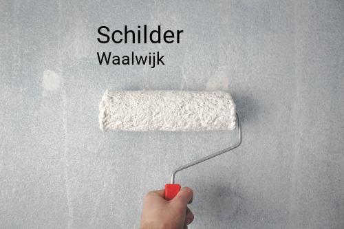 Schilder in Waalwijk