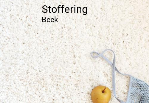 Stoffering in Beek