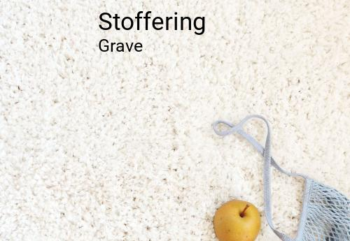 Stoffering in Grave
